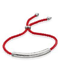 Monica Vinader | Pink Esencia Friendship Bracelet | Lyst