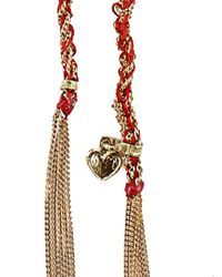 Carolina Bucci - Red Lucky Love Bracelet - Lyst