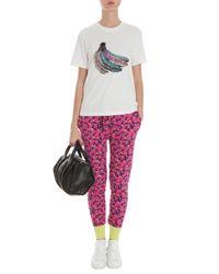 Markus Lupfer - Pink Bananas Print Knit Joggers - Lyst