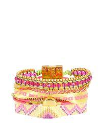 Hipanema - Yellow Amor Bracelet - Lyst
