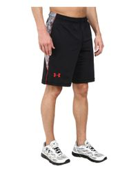 Under Armour | Black Ua Raid Novelty Short for Men | Lyst
