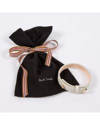 Paul Smith | Black Women'S Aran Leather Bracelet | Lyst