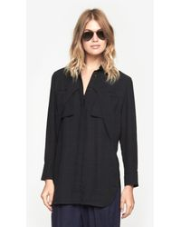 IRO - Black Badia Shirt - Lyst