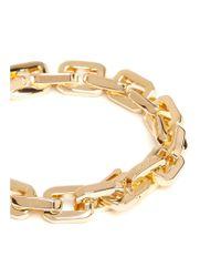 Eddie Borgo | Metallic 'supra' Small Geometric Link Bracelet | Lyst