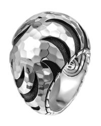 John Hardy | Metallic Palu Dome Ring | Lyst