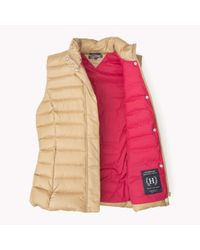Tommy Hilfiger | Natural Down Gilet | Lyst