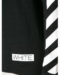 Off-White c/o Virgil Abloh - Black Striped Sweater for Men - Lyst