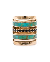 Pamela Love | Black 'inlay' Ring | Lyst
