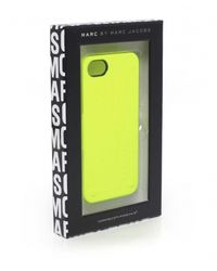 Marc Jacobs - Yellow Standard Supply Iphone Case - Lyst