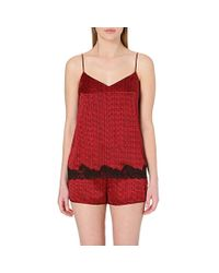 Stella McCartney - Red Ellie Leaping Pyjama Camisole - Lyst
