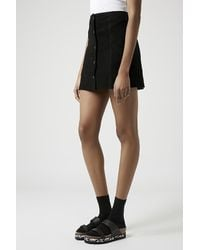 TOPSHOP - Black Fate Two Strap Sandals - Lyst