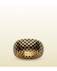 Gucci | Metallic Diamantissima Ring | Lyst