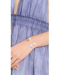 Tai - Multicolor Pave Open Stone Bracelet - Lyst