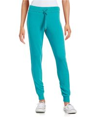 Calvin Klein | Blue Knit Jogger Pants | Lyst