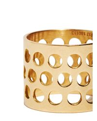 Jem | Metallic Jem Women's Voids Xl Ring From Aw15 In Yellow Gold | Lyst