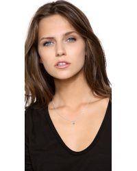 Helen Ficalora | Metallic Evil Eye Charm - Silver | Lyst