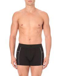 Lacoste | Black Motion Micro-mesh Trunks for Men | Lyst