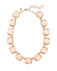 Brooks Brothers - Pink Medium Glass Bead Necklace - Lyst