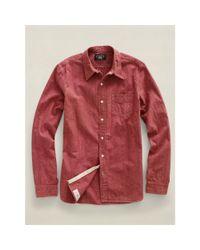 RRL - Red Bradley Workshirt for Men - Lyst