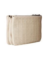 Elliott Lucca | Natural Bali '89 Triple Compartment Clutch | Lyst