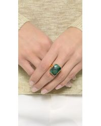 Ringly - Green Into The Woods Tech Ring - Emerald - Lyst
