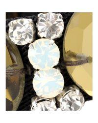 Marni | Green Crystal-embellished Twill Bracelet | Lyst