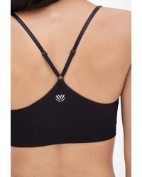 Forever 21 - Black Low Impact - Cami Sports Bra - Lyst