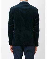 Etro - Blue Two Button Blazer for Men - Lyst