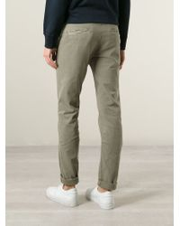 Stone Island | Green Straight Leg Trousers for Men | Lyst