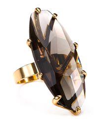 Robert Lee Morris - Metallic Big Stone Ring - Lyst