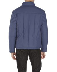 Kenneth Cole | Blue Quilted Hipster Jacket for Men | Lyst