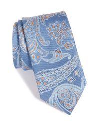 John W. Nordstrom - Blue John W. Nordstrom Paisley Silk Tie for Men - Lyst