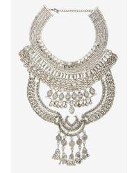 Nasty Gal   Metallic Drama Queen Collar Necklace   Lyst