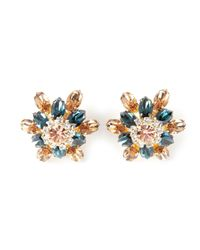 DSquared² - Blue Crystal Earrings - Lyst