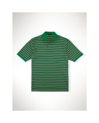 Ralph Lauren | Green Striped Pima Soft-touch Polo for Men | Lyst