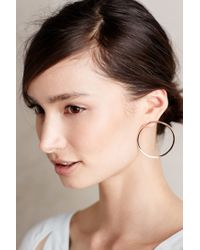 Melanie Auld - Metallic About-face Hoops - Lyst