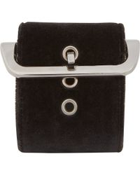 Givenchy | Black Buckle Cuff | Lyst