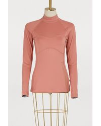 926666213e51a7 Adidas By Stella Mccartney Long-sleeved Training Top in Pink - Lyst