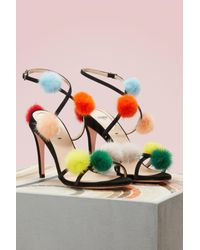 Fendi - Multicolor Sandals With Heels - Lyst