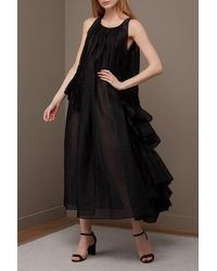 Jil Sander - Black Emphasis Dress - Lyst