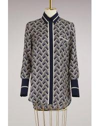 Victoria Beckham | Multicolor One Pocket Shirt | Lyst