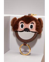 Miu Miu - Multicolor Monkey Key Ring With Mirror - Lyst