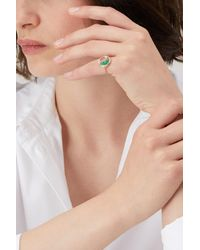 Aurelie Bidermann - Multicolor Emeralds Chivor Ring - Lyst