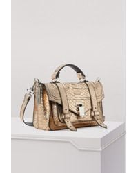 Proenza Schouler - Multicolor Ps1+ Python Embossed Shoulder Bag - Lyst