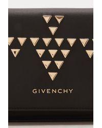 Givenchy - Black Pandora Chain Wallet - Lyst