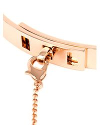 Eddie Borgo - Pink Safety Chain Choker Necklace - Lyst