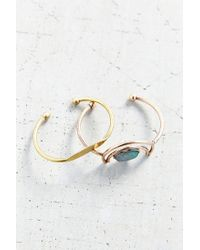 Urban Outfitters - Blue Nile Valley Bangle Set - Lyst