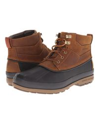 Sperry Top-Sider - Brown Gold Bay Boot for Men - Lyst