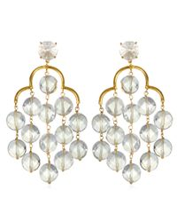 Asha | Metallic Giselle Earrings | Lyst