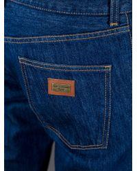 Dolce & Gabbana | Blue Straight Leg Jean for Men | Lyst
